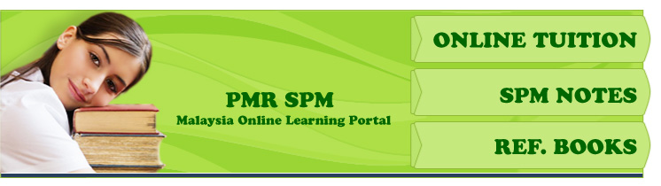 Malaysia SPM PMR Online Notes, Reference Books and Homewprk Help